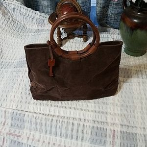 Fossil purse with key